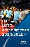 Fifa Futsal Amendments 2015